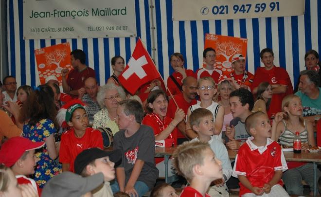 Match Suisse-Corée 2006